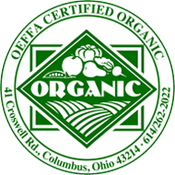 OEFFA certified organic badge